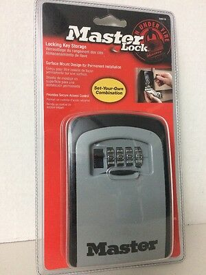 Master Lock 5401D Select Access Wall-Mounted Key Storage Box Set-Your-Own Combo