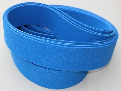 2 x 72  Felt Belt - Polish Metal Parts and Blades - Buffing Wheel Alternative