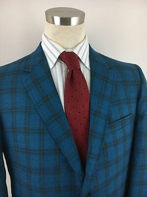 MERIT check pattern sport coat vintage 60s size 42 R new nwt nos pendennis club