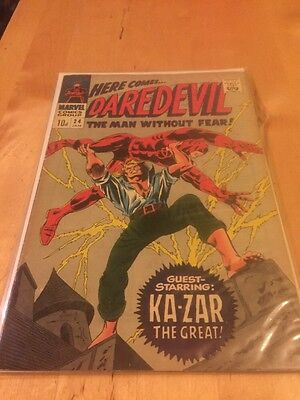 2 Daredevil Silver Age Classic Comics 24&25 In Fine Plus Condition