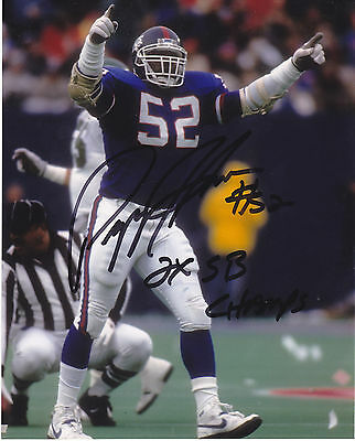 2daa4abc1 PEPPER JOHNSON NEW YORK GIANTS ACTION SIGNED 8x10 - $19.99 | PicClick