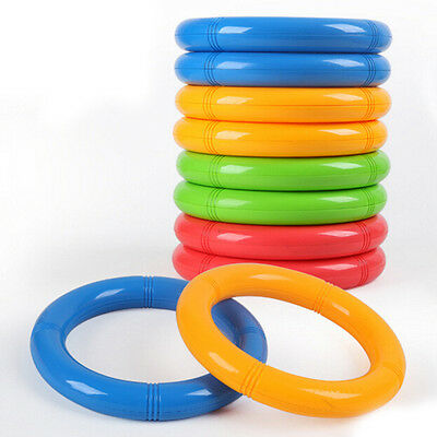 Plastic Rattle Gymnastics Ring Children Baby Fitness Multi-colored Toy