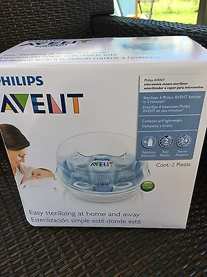 Philips AVENT Microwave Steam Sterilizer: NEW IN BOX