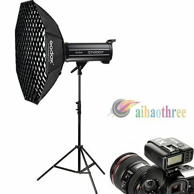 Godox QT1200IIM 1200W HSS 1/8000s High Speed Flash Light Sofbox Trigger Kit【AU】