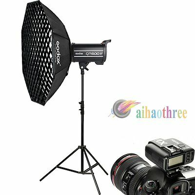 Godox QT600II 600W 2.4G Wireless HSS 1/8000s High Speed Flash Softbox Trigger【AU