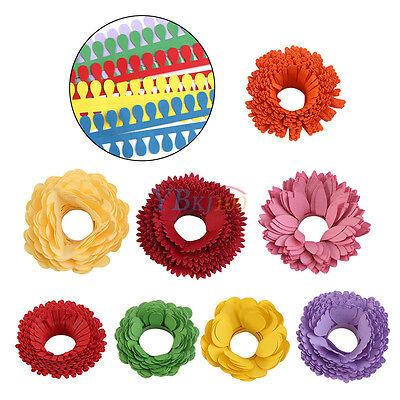 10 Stripes/Bag Flower Quilling Paper Mixed Colors DIY Paper Hand Craft Hot xx