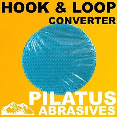 1 x 150MM HOOK & LOOP CONVERTER DISC FOR USE WITH VELCRO SANDING DISCS