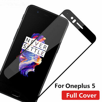 For ONEPLUS 5 Genuine Premium Full Cover Film Screen Protector Tempered Glass