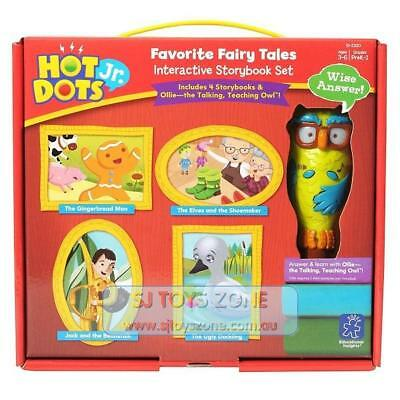 Educational Insights Hot Dots Jr. Favorite Fairy Tales Book Set with Ollie Pen