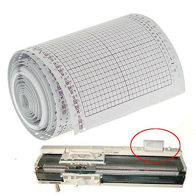 5 Meter Blank Punchcard Roll 15PCS 24 Stitch for Brother Knitting Machines KH860