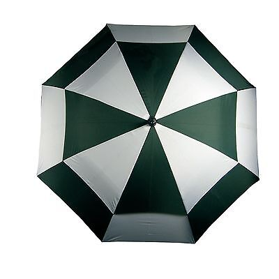 Longridge - Deluxe Windproof - Green/White Umbrella