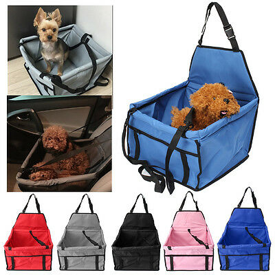 PET DOG/CAT/KITTEN CAR TRAVEL/SAFETY SEAT CARRY CRATE/CARRIER BAG Oxford Cloth
