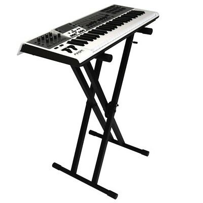 Gorilla GXS-200 Double X-Braced Piano Keyboard Stand Quick Release Height Adjust