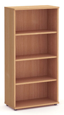 NOVA Aspire Tall 1600mm Bookcase, BEECH