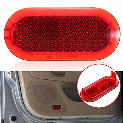 Door Panel Red Warning Light Reflector For VW Beetle Caddy Polo Touran 6Q0947419