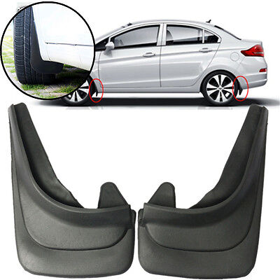 2x Front or Rear Universal Car Mud Flaps Mudflaps For FORD MONDEO FIESTA  AUDI