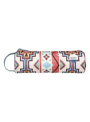 """Roxy """"off The Wall"""" Girls Pencil Case. Pale Dogwood Pasadena Blanket"""