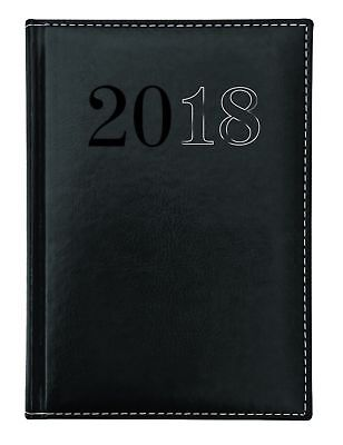 Diary 2018 Debden Chelsea A5 Week to View Black ND53 22x16cm - Free shipping!