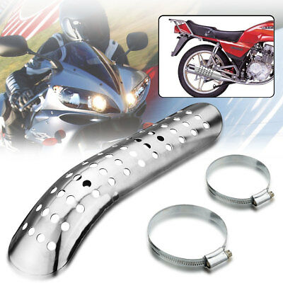 Motorcycle Exhaust Muffler Heat Shield Cover Guard For Harley Cruiser Chopper