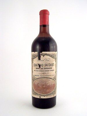1959 CHATEAU JACQUET Bordeaux Superieur Red Bordeaux Isle of Wine