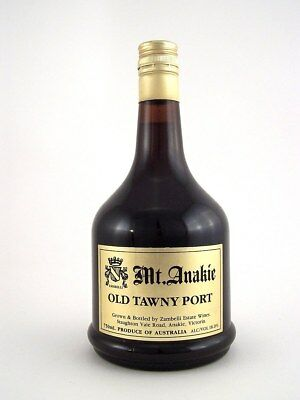 1988 circa NV Mt. ANAKIE Old Tawny Port Isle of Wine