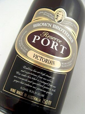 1993 circa BROWN BROTHERS Reserve Port Isle of Wine