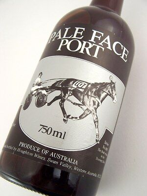 1981 circa NV  HOUGHTON Pale Face Trotting Series Port A Isle of Wine