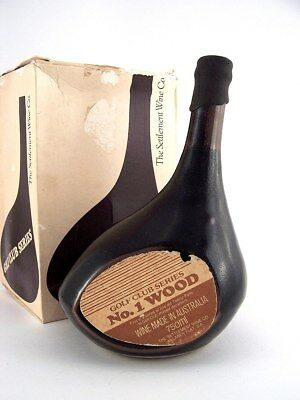 1977 circa NV SETTLEMENT WINE CO Golf Club Series No.1 Wood Port Isle of Wine