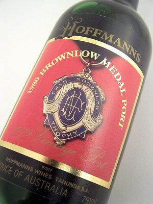 1979 HOFFMANNS 1980 Brownlow Medal Vintage Port Isle of Wine