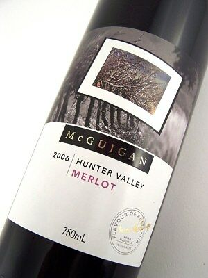 2006 McGUIGAN WINES Vineyard Select Merlot B Isle of Wine
