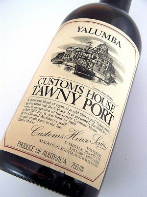1978 circa NV YALUMBA Brisbane Customs House Tawny Port Isle of Wine