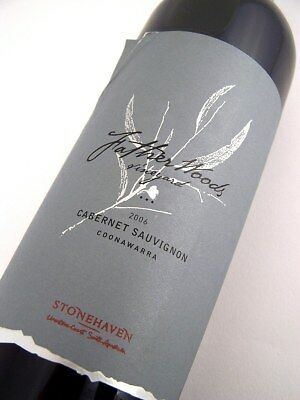 2006 STONEHAVEN Winery Father Woods Vineyard Cabernet Sauvignon Isle of Wine