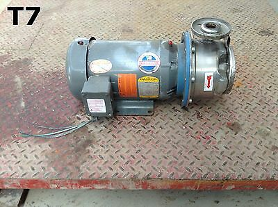 G&L Pumps SSH Stainless Steel Centrifugal Water Pump 1X2 3450RPM 3PH 6-7/16 Imp