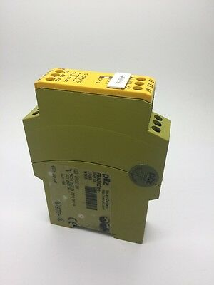 Pilz PZE X4 24vDC 4NO/O Single Channel Safety Relay PZEX4