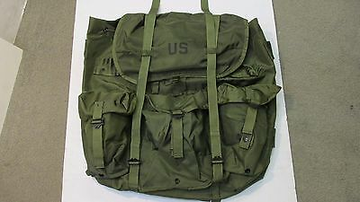 Genuine US Military OD Nylon Large Alice Pack Field LC1 NOS RUCK ONLY 1986