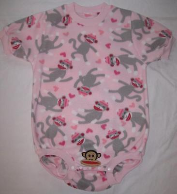 """Adult Sized 38 to 40"""" Little MONKEY Baby Onesuit Bodysuit, by LL"""