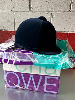 Charles Owen Rider 2000 Riding Hat Navy Size 7 1/2  61 Brand New Boxed