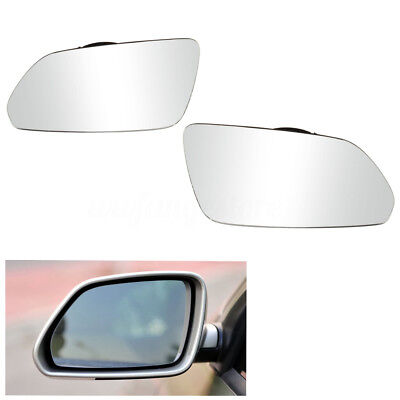 Left + Right Heated Electric Wing Glass Mirrors For Skoda Octavia MK2 2004-2008