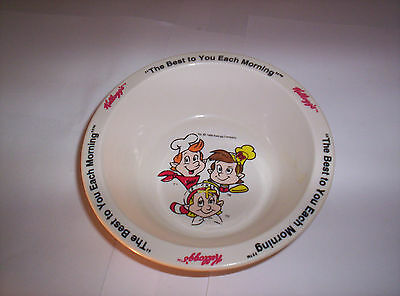 1995 Kellogg's Rice Krispies Cereal Bowl Snap Crackle Pop Replacement