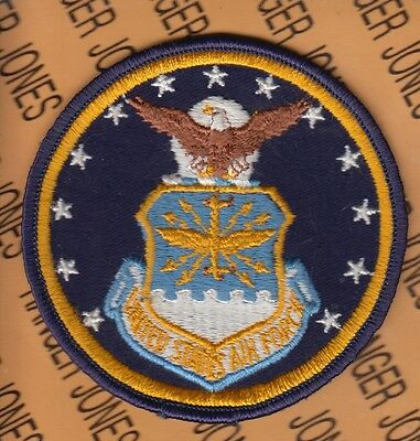 """USAF Air Force command shield pocket patch 3.75"""""""