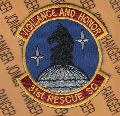 """USAF AFSOC 33rd Para Rescue PJ Jolly Green AIR PIRATE 3.75/"""" pocket patch"""