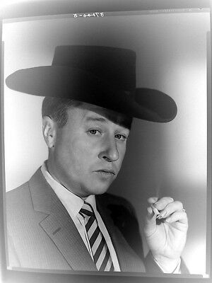 GEORGE GOBEL 1956 by HOLLOWAY Original Negative H628