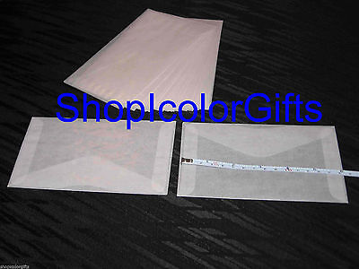 ShopIcolorGifts- 25 Brand New Glassine Envelopes Size #5 (3-1/2 x 6)
