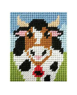 Cow embroidery kit by Orchidea