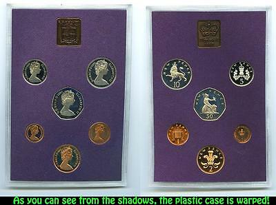 The Coinage of Great Britain & Northern Ireland 1980 Proof Set - Queen Elizabeth