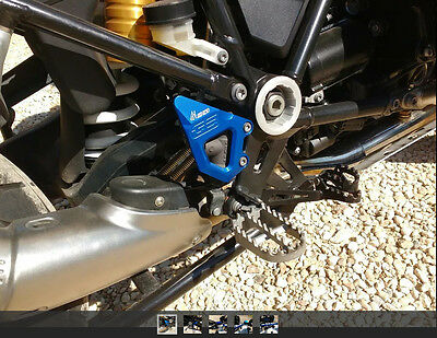 Footrest Foot Pegs Heel Plates Guard Protector ForBMW R1200GS/R/LC/ADV 2013-2017