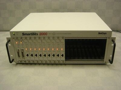 Spirent SmartBits SMB-2000 Network Analyzer w/ 9x ML-7710 SX-7205 SX-7210 Cards