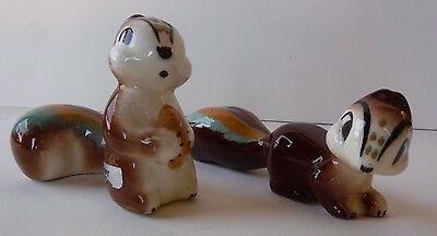 Vintage Robert Simmons Squirrels Nutsy Whiskey California Pottery