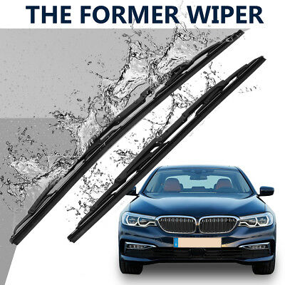 Front Windscreen Windshield Wiper Blades For BMW E39 525i 528i 530i 1997-2003