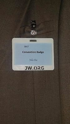 JW Convention Badge Holder As Low As $5.99 ea
